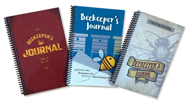 Beekeeping Journals 3-pack