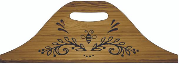 Vine w/Bee Beekeeper's Tool Box