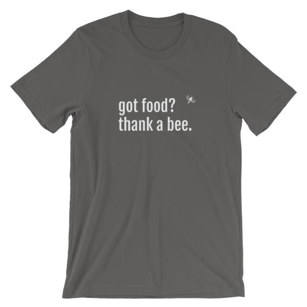 Short-Sleeve Unisex T-Shirt- Got Food? WHT