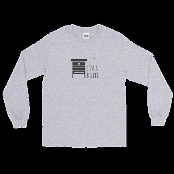 Long Sleeve T-Shirt- Keeper Blck