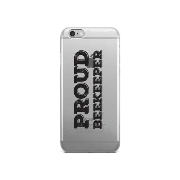 iPhone Case - Proud Beekeeper - BLK