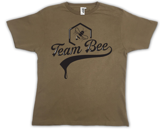 Team Bee Coyote Brown T-shirt