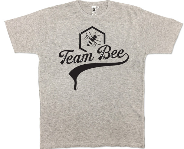 Team Bee Athletic Grey T-shirt