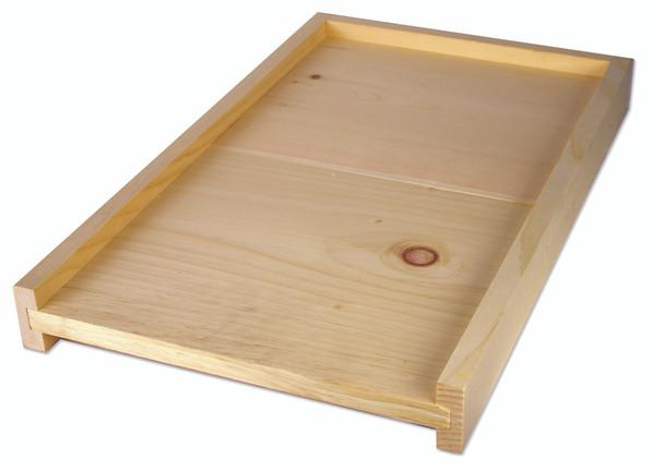 Solid wood bottom board