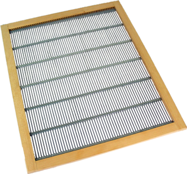 8 Frame Wood Rim Queen Excluder