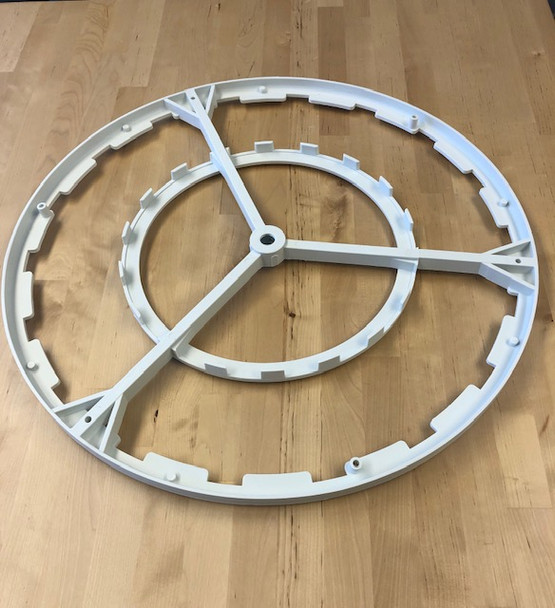 Bottom Plastic Support Reel for 18 Frame Extractor Basket