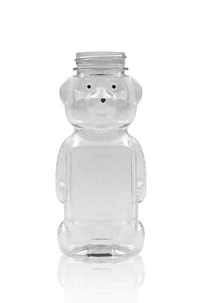 12 oz. wt. Plastic Panel BEARS (case of 365/no caps) [PBRN-12]