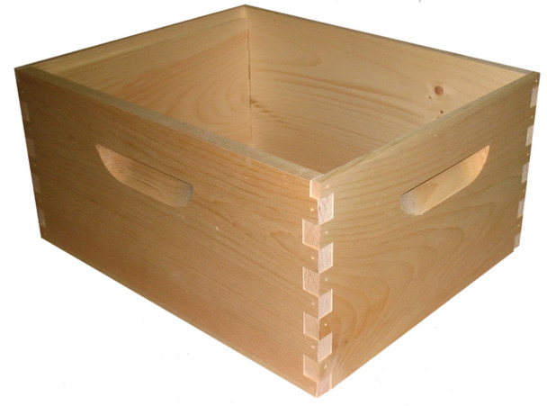 10 Frame WOOD Deep Hive Body (unassembled) [10-DEEP]