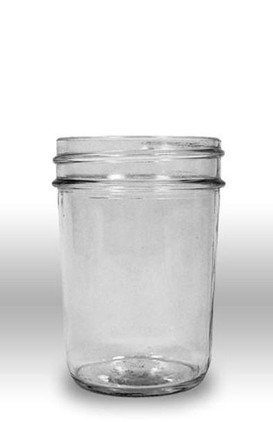 8 fl. oz. Glass Jelly Jars (12 count/no lids) [8-JJ]