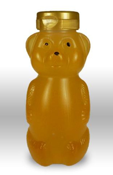 12 oz. wt. Plastic Hazy Belly Bear (case of 438/no caps) [HZBR-12]