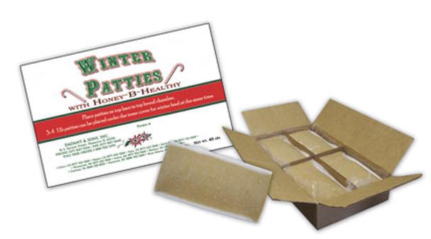 Winter Patties w/Honey-B-Healthy (1 lb. patty or 40 lb. box) [MB-WP / MB-WP40LB]
