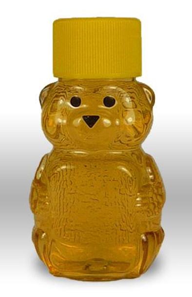 24-pack 2 oz. plastic honey bears w/caps