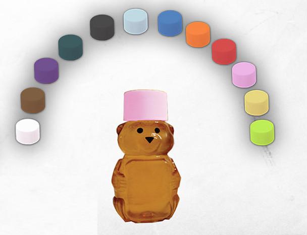 24mm plastic caps for 2 oz. honey bears