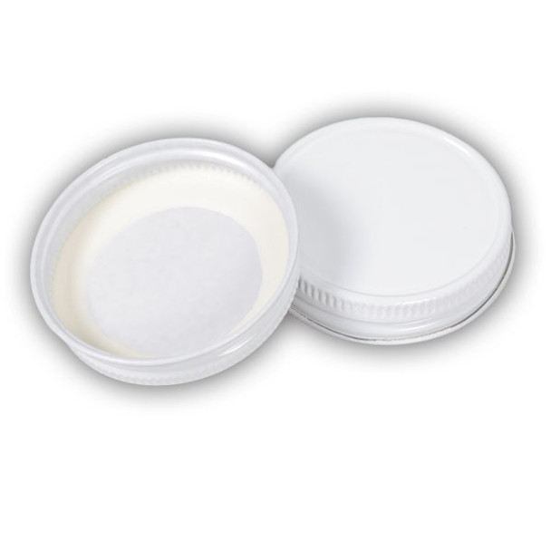 White Metal Lids