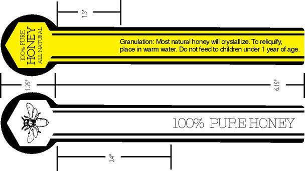 Tamper Proof Labels (roll of 500)