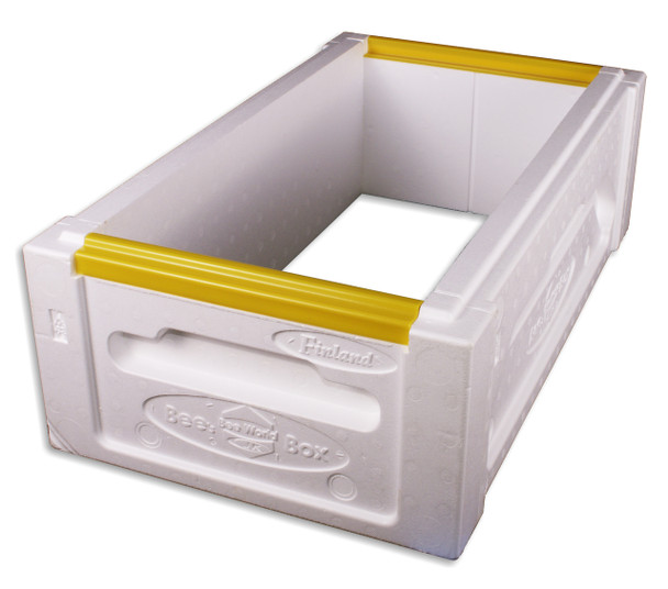 Polystyrene 6 Frame MEDIUM Nuc Box (unassembled) [PNM]