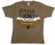 Buy Local (support beekeepers) coyote brown T