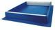 Blue Plastic 10 Frame Hive Top Feeder [423]