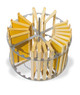 Lega 16/28 Frame Motorized Extractor basket
