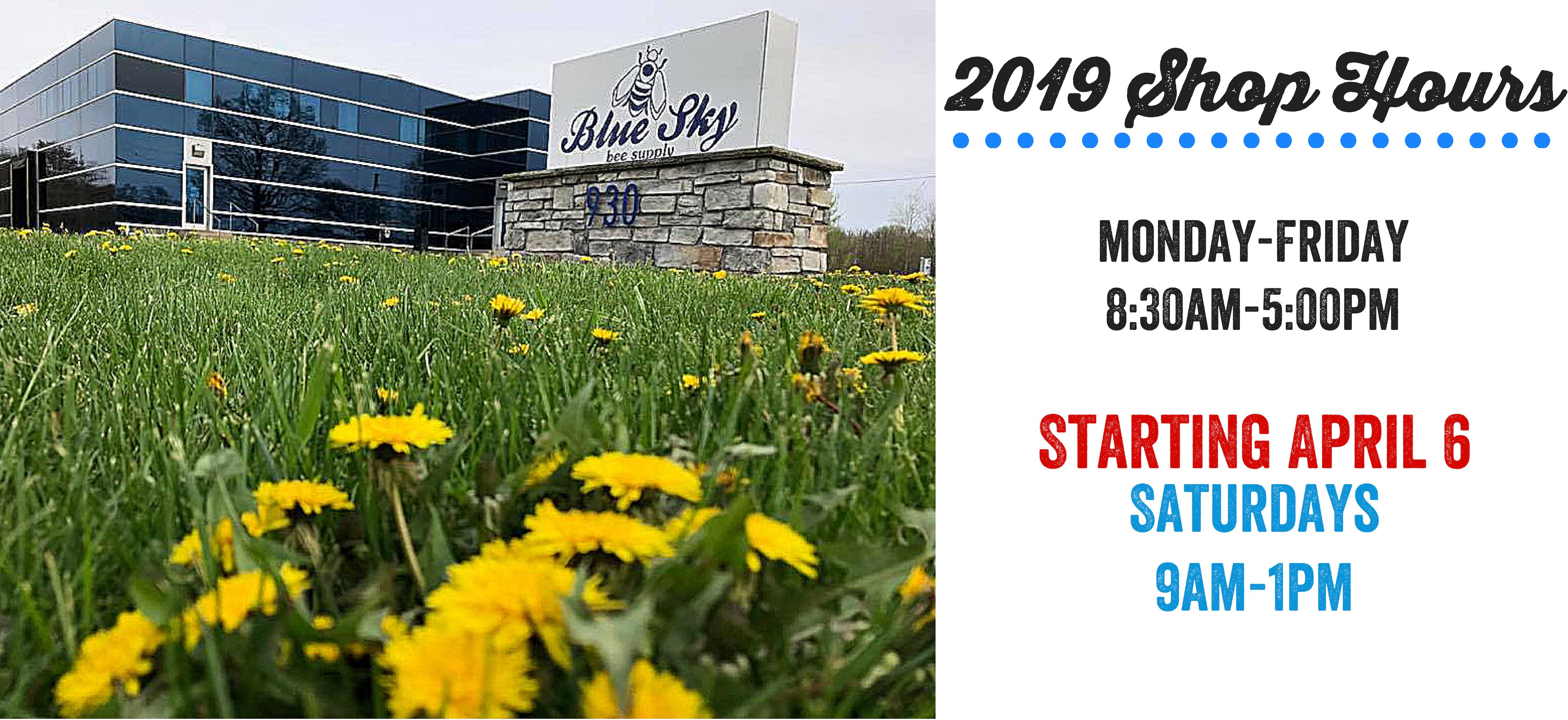 Blue Sky store hours