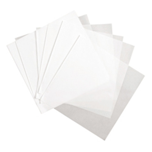 "Amber - 12""X12"" - Wax Paper, White 1000/Pack"