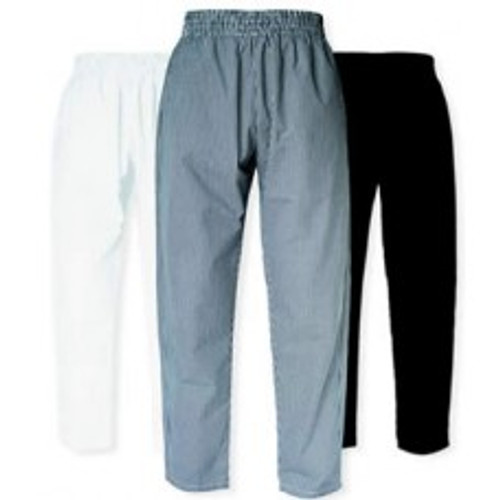 CI21901 Large - Bodyguard Chef Pants **Checkered** Large Size - Each
