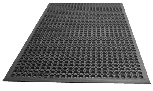 "Magnum #MAG7965 Black Anti Fatigue Rubber Mat 36X60""  - Grease Resist - 1/EACH"