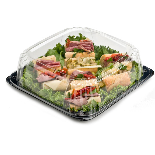 "Ultrastack 12"" Square Catering Tray Combo"
