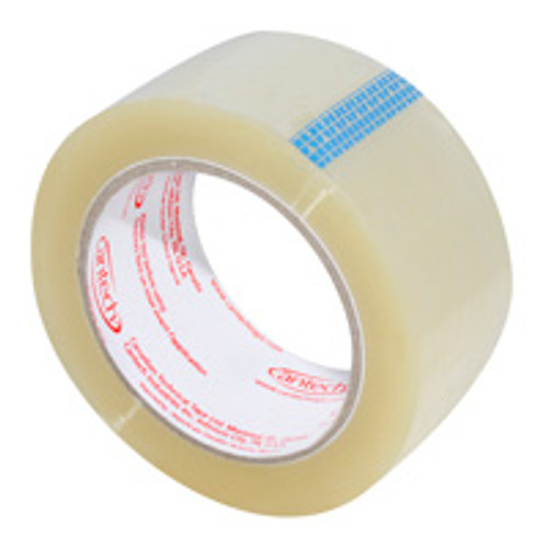 Cantech - 257-00 - 48MM X 100M Clear Carton Sealing Tape 36/Case