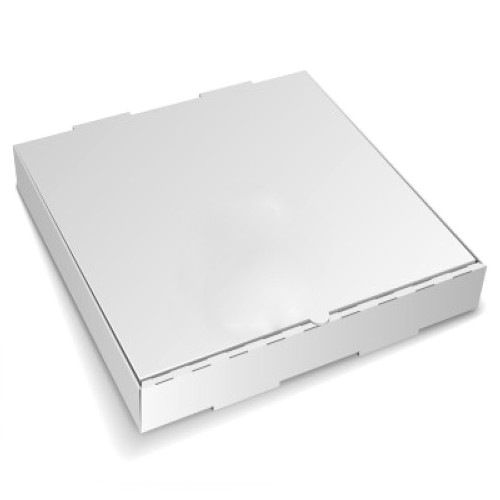 """Amber - 16"""" x 16"""" - Pizza Box White Shrink Wrapped 50/Case"""
