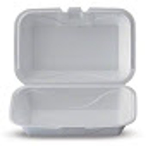 Darnel - A102 - Hinged Foam Container, white