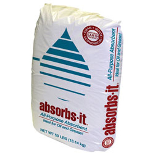 Absorbs-It - I01150-G40 - Granular Oil Absorbant 50LBS BAG