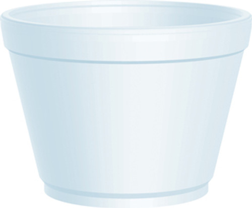 Dart - 16MJ32 - 16 Oz Foam Soup Container, White 500/Case