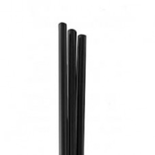 """Touch - 92-785 - 6"""" Black Cocktail Straw 9X500/Case"""