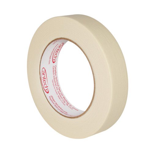 Cantech - 107-00 - 18mm x 55m General Purpose Masking Tape - 48 Rolls/Case