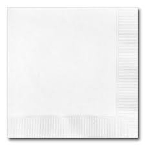 Cardinal 1 ply Lunch Napkin, White,