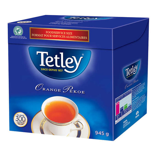 Tetley Orange Pekoe Tea, 300/Pack