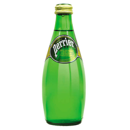 Perrier Carbonated Mineral Water, 24 × 330 mL