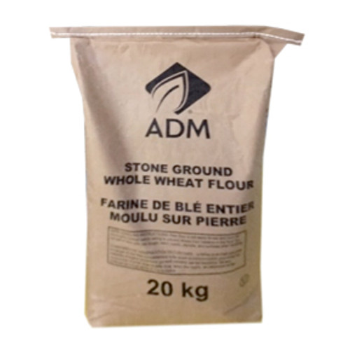 ADM - Stone Ground Whole Wheat Flour - 20kg