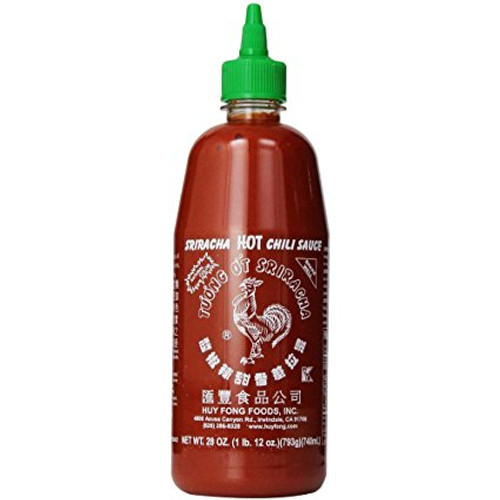 Hu Fong Sriracha Chili Sauce 12X740ml (28 oz) / Case