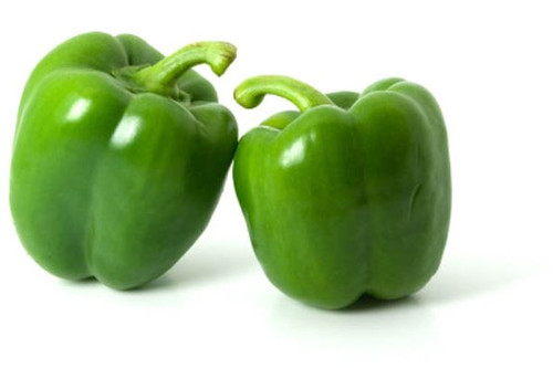 Fresh Green Bell Peppers approx 22-25lbs