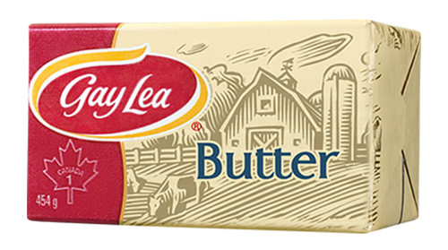 Natrel/Gay Lea Butter Unsalted (Sweet) 454g