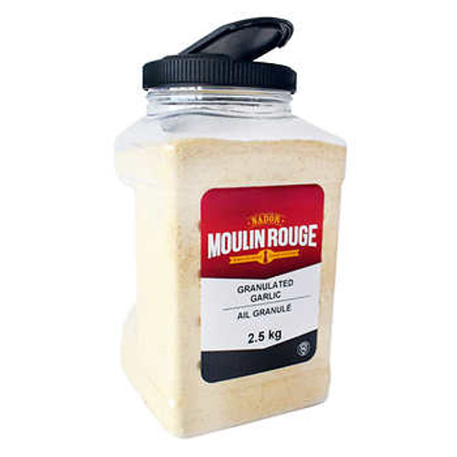 Nador Moulin Rouge Granulated Garlic Jar 2.5 kg