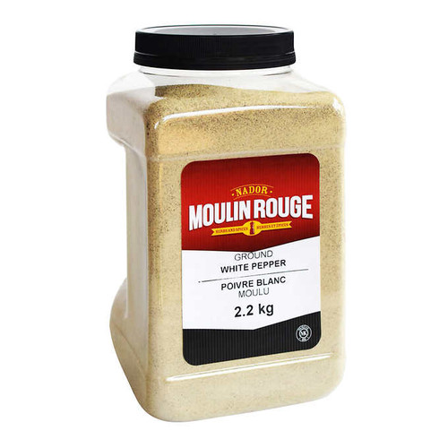 Moulin Rouge White Pepper Ground JAR 2.2kg