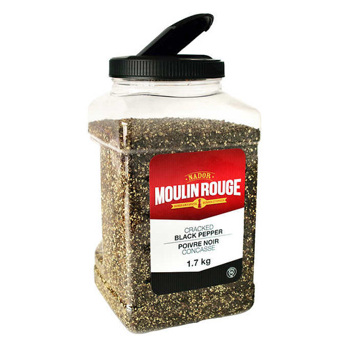 Moulin Rouge Black Pepper Cracked JAR 1.7kg