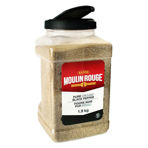 Moulin Rouge Black Pepper Ground JAR 1.9kg