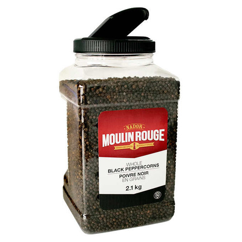 Moulin Rouge Black Pepper Whole Jar  2.1kg