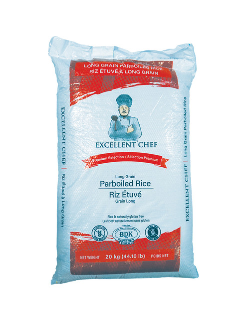 Excellent Chef - Parboiled Rice 20kg