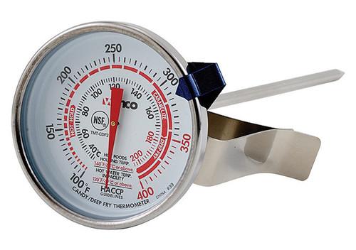 """Winco TMT-CDF2 2"""" Deep Fry /Candy Thermometer"""