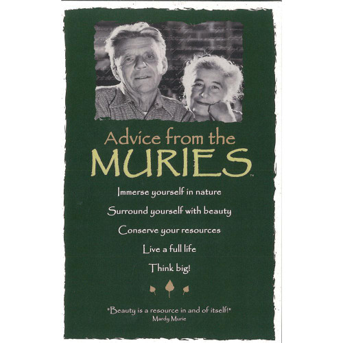 Postcard - Advice from the Muries